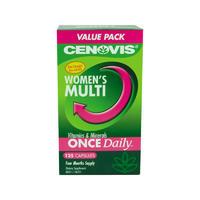 Cenovis Women's Multi 女性复合维生素 125粒(维持健康的血糖水平/骨骼健康)