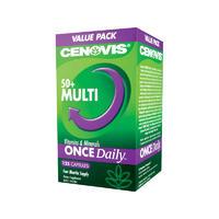 Cenovis 50 多种复合维生素天然保健品胶囊 125粒