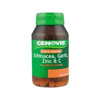 Cenovis 紫锥菊+大蒜+锌+维生素C片 125粒(提高免疫力)