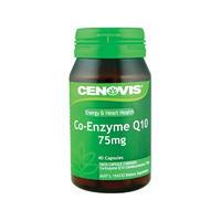 Cenovis Q10 75mg 护心辅酶片 40粒(保护心脏/抗氧化/减轻疲劳/增加能量)