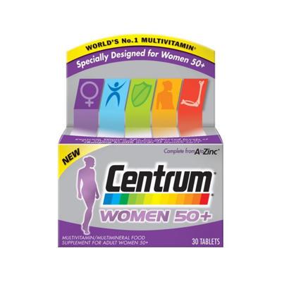 Centrum 善存 女性复合维生素片 50+ 30片