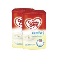 【2罐装】Cow&Gate 英国牛栏 Comfort高端肠胃舒适防腹泻胀气1段奶粉(0-12个月) 900g