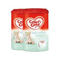 【2罐装】Cow&Gate 英国牛栏 防吐奶粉1段(0-12个月) 900g