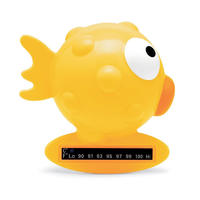 Chicco 黄色小金鱼宝宝水温计 1个