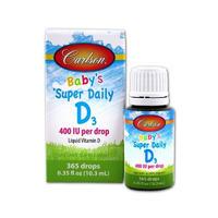 Carlson 卡尔森 儿童维生素D3 400IU滴剂 10.3ml(补钙365天量)
