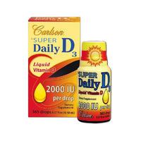 Carlson 卡尔森 超级维生素D3 2000IU滴剂 10.98ml(增强钙吸收)