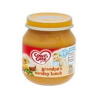 Cow & Gate 周日午餐粥(4-6个月起) 125g*6瓶