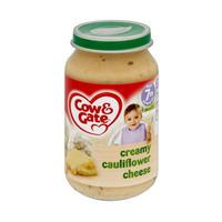 Cow & Gate 奶油花菜奶酪泥罐头(7个月起) 200g*6瓶