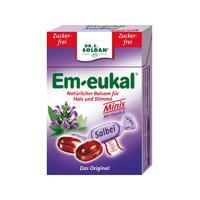 Em-Eukal 鼠尾草润喉维生素糖 40g(无糖型/盒装)