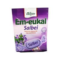 Em-Eukal 鼠尾草润喉维生素糖 75g
