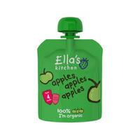 Ella's Kitchen 艾拉厨房 100%纯苹果果泥(无添加)70g(4个月起)