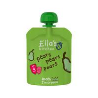 Ella's Kitchen 艾拉厨房 100%纯梨果泥 70g(4个月起)