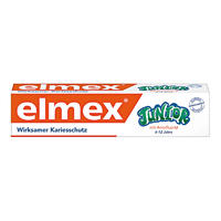 Elmex 易学 德国Junior儿童抗龋齿换牙牙膏 75ml(6-12岁)