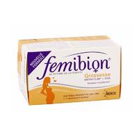 Femibion 孕期哺乳期叶酸+DHA补剂 30片+30粒胶囊