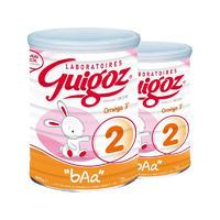 【2罐装】Guigoz 古戈士 新生儿助消化奶粉二段 800g