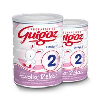 【2罐装】Guigoz 古戈士 近母乳配方奶粉二段 800g