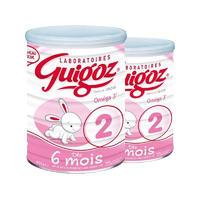 【2罐装】Guigoz 古戈士 专业营养配方二段奶粉(6-12个月) 800g