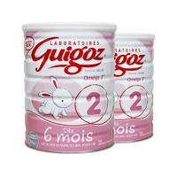 【2罐装】Guigoz 古戈士 婴幼儿成长奶粉 2段 800g