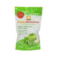 Happy Baby 禧贝 婴幼儿辅食有机蔬菜和水果薯片 28g(苹果和菠菜味)