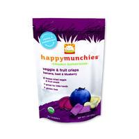 Happy Baby 禧贝 婴幼儿辅食有机蔬菜和水果薯片 28g(香蕉甜菜和蓝莓味)