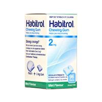 Habitrol 2mg 尼古丁戒烟口香糖 96颗(薄荷味)