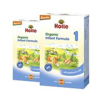 【2罐装】Holle 泓乐 有机新生儿配方奶粉1段 400g(0个月以上)