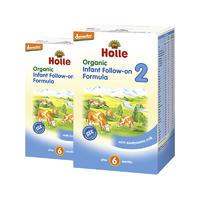 【2罐装】Holle 泓乐 有机婴儿配方奶粉2段 600g (6个月以上)