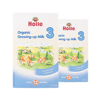 【2盒装】Holle 泓乐 有机幼儿配方奶粉3段 2*600g/盒 (12个月以上)