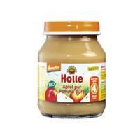 Holle 泓乐 有机纯苹果果泥罐头 125g (4个月以上)