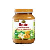 Holle 泓乐 有机什锦蔬菜泥罐头 190g (6个月以上)