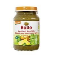 Holle 泓乐 有机菠菜土豆混合菜泥罐头 190g (4个月以上)