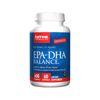 Jarrow Formulas 杰诺 EPA-DHA 平衡胶囊 60粒