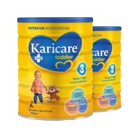 【2罐装】Karicare 可瑞康 普装3段婴幼儿配方奶粉 (1岁以上) 2*900g/罐