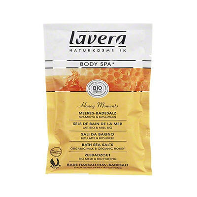 Lavera 莱唯德 身体SPA牛奶蜜糖浴盐 80g