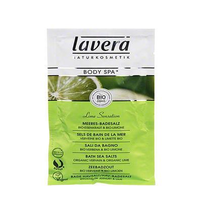 Lavera 莱唯德 身体SPA有机青柠浴盐 80g