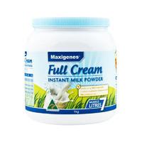 Maxigenes 美可卓 全脂高钙成人奶粉 1kg/瓶(含维A/维D)