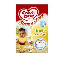 Cow & Gate 混合果味婴儿米糊(适合从4-6个月开始添加) 125g