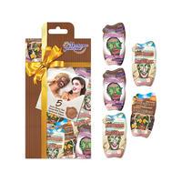 Montagne Jeunesse MJ 巧克力狂热面膜 5片套装礼盒(巧克力+白巧克力+热巧克力桑拿)