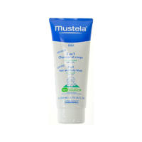 Mustela 妙思乐 婴儿身体头发二合一洁肤露 200ml