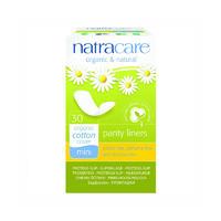 Natracare 奈卡 有机纯棉曲线型卫生护垫 30片
