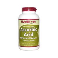 Nutribiotic 抗坏血酸粉 454g