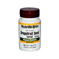 Nutribiotic 125mg 葡萄柚籽提取精华片 100片
