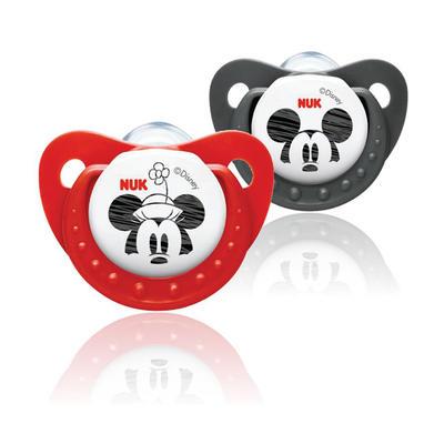 NUK 迪士尼 首选系列 硅胶安抚奶嘴 2段( 6-18个月) 2个装