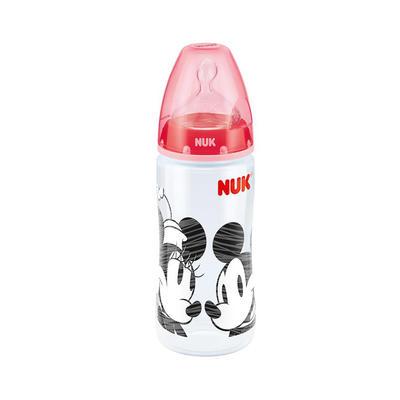 NUK 迪士尼 首选系列 宽口径PP奶瓶 300ml(红色)
