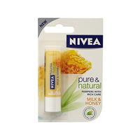 Nivea 妮维雅 天然蜂蜜唇膏 4.8g (天然滋润补水)