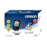 Omron 欧姆龙 血糖仪套装(血糖仪+10个采血针+50条试纸+包装袋)