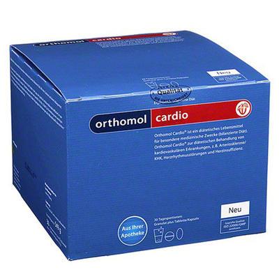 Orthomol 奥适宝 心血管系统保健颗粒/胶囊组合装 30剂