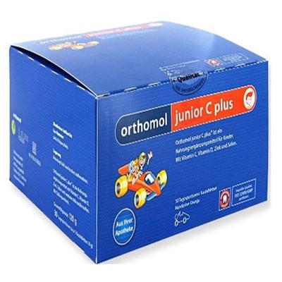Orthomol 奥适宝 junior C plus 增强儿童免疫力复合营养咀嚼片(野果味) 30片