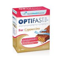 Optifast 澳洲巧克力棒(减肥零食低卡路里) 6包x60g(卡布奇诺咖啡口味)