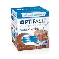 Optifast 澳洲牛奶奶昔(减肥零食低卡路里) 12袋装x54g(巧克力口味)